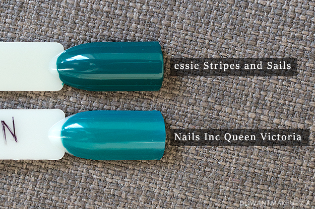 Essie Stripes and Sails swatches
