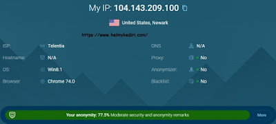 Menyamarkan identitas IP