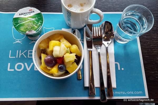 Frühstück im Motel One in Wiesbaden
