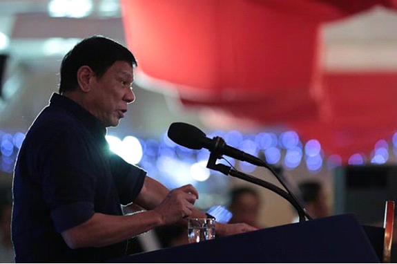 I will end drugs even at the cost of my honor, my life, and the presidency — Duterte