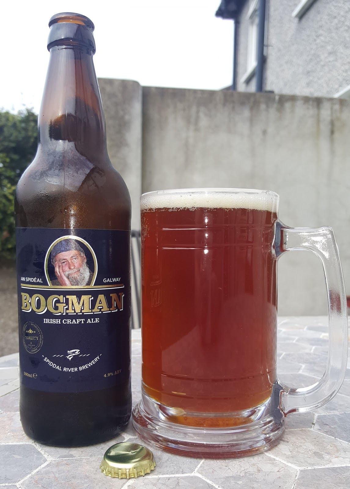 First up is the charmingly named Bogman from Spiddal River Brewery.
