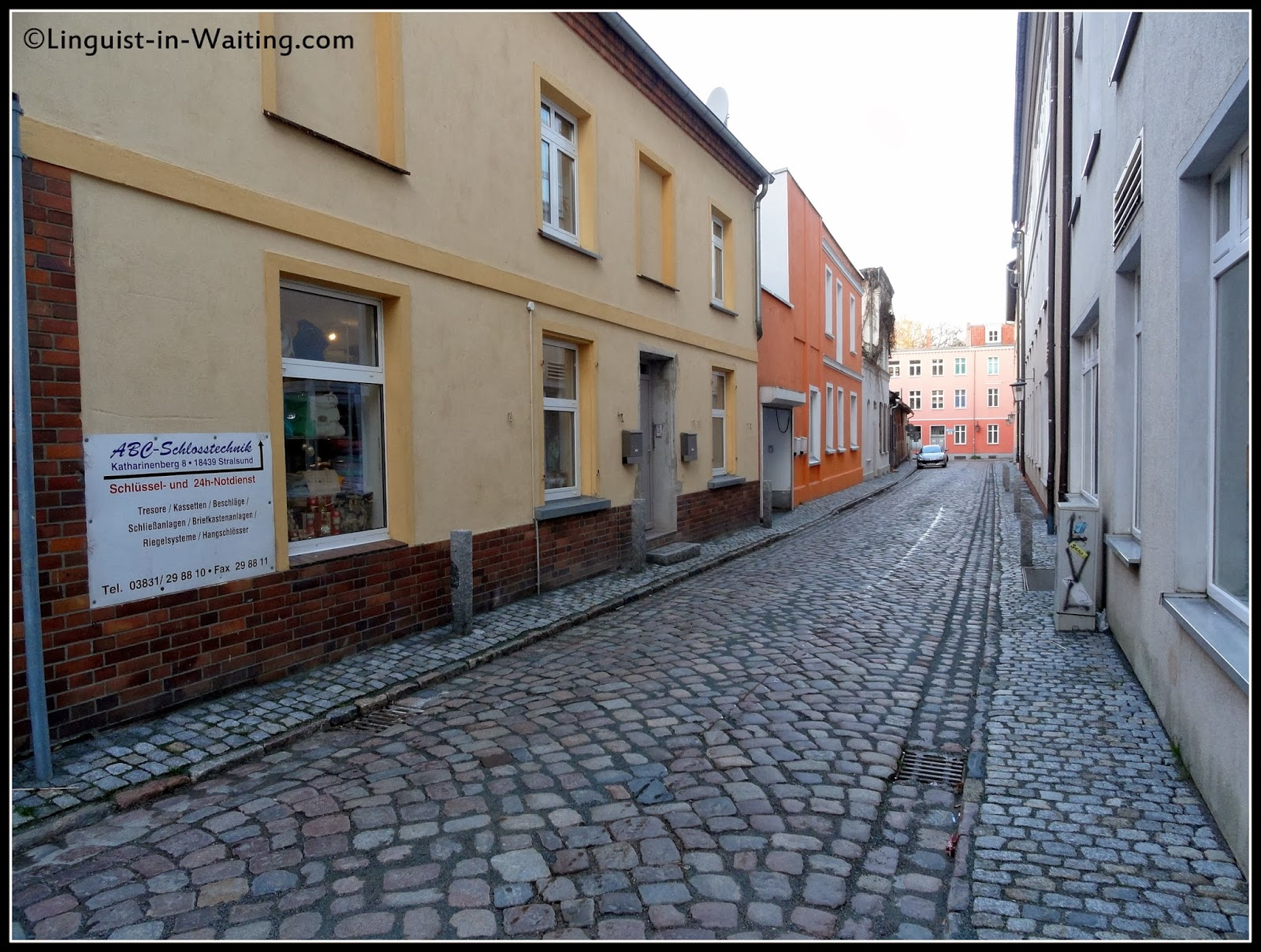 Memoirs Of A Traveling Ex Linguist Year 16 Sashaying Along The Strela Sound Old Town Stralsund