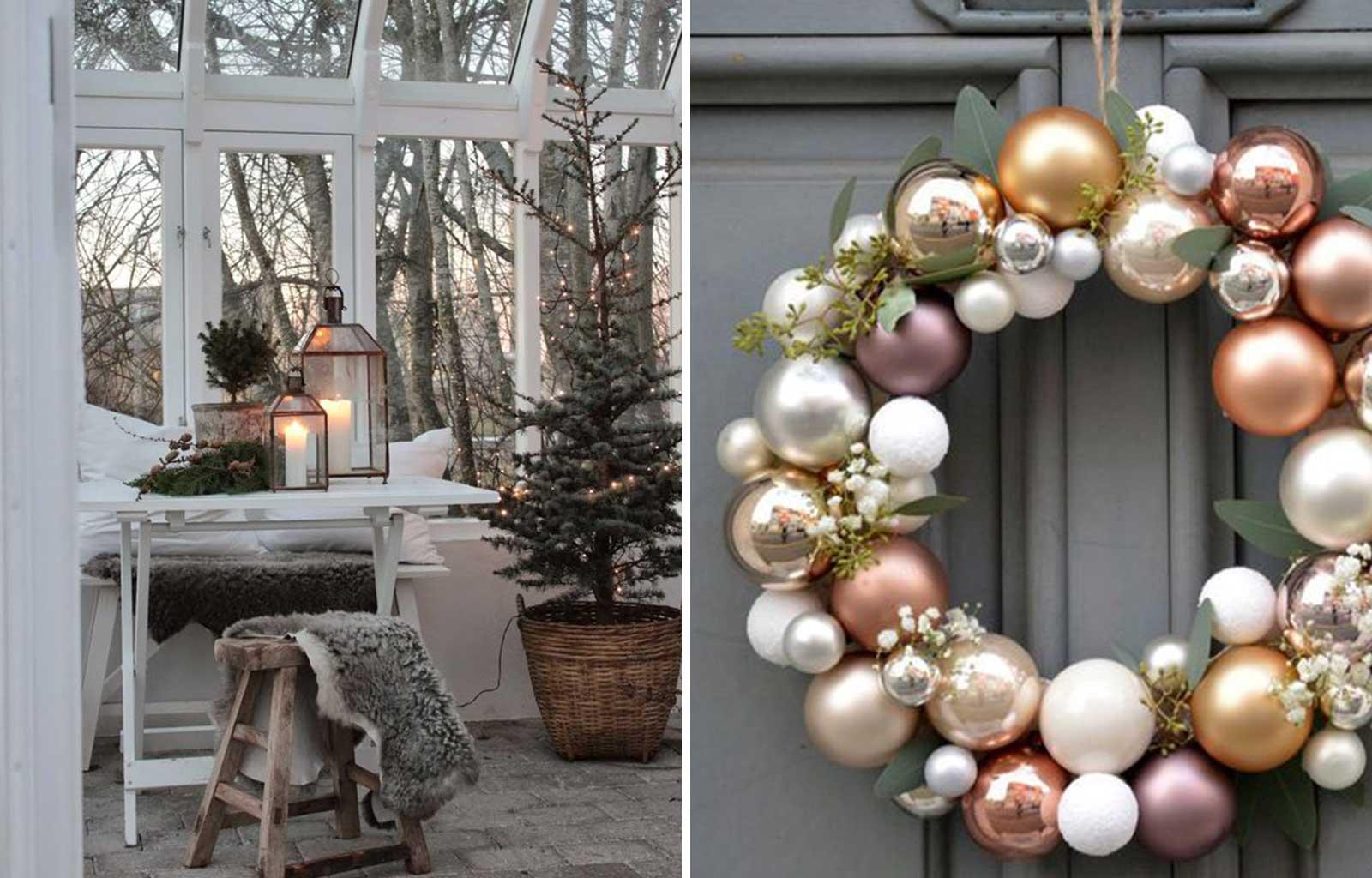 tendances déco fêtes fin d'année noël scandinave