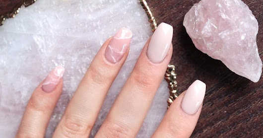 "These ""Quartz Nails"" Let You Have Your Crystals On Hand at All Times"