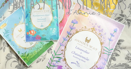 Les masques en soie Fantasy Land de Annie's Way + Giveaway