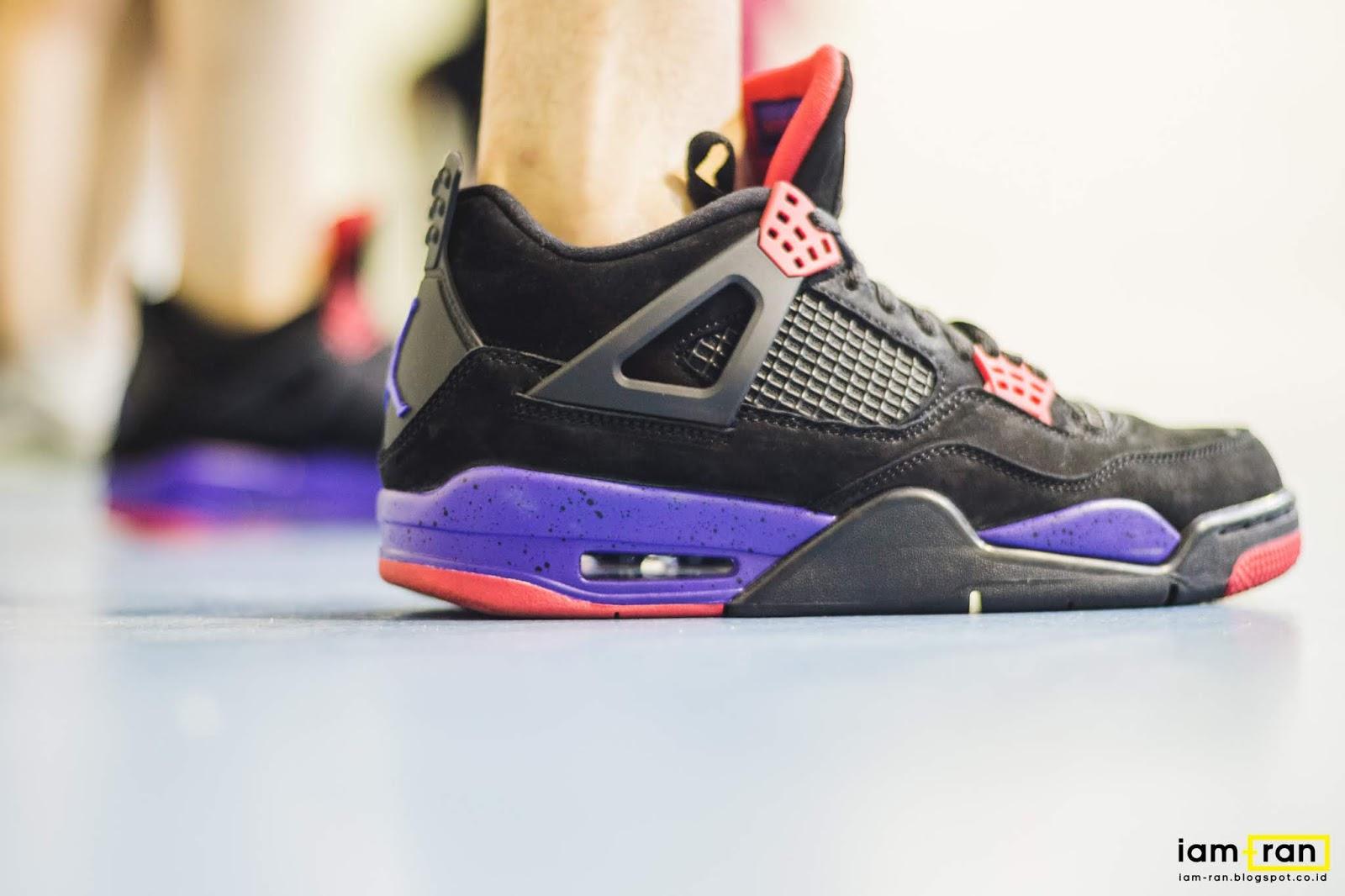 best authentic a7264 5bdf6 IAM-RAN: ON FEET : Timmy - Nike Air Jordan 4 NRG Raptor