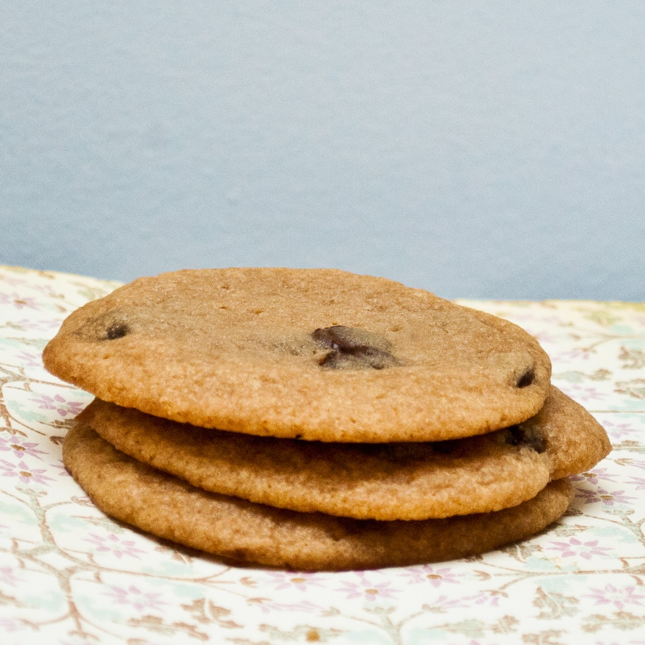 By the way, I didn't have chocolate chips on hand when baking the ...
