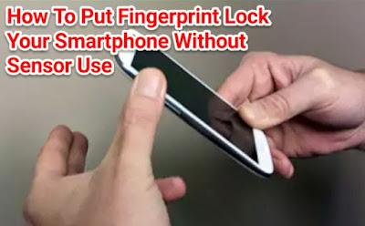 Mobile Mai fingerprint Lock Kaise Lagaye