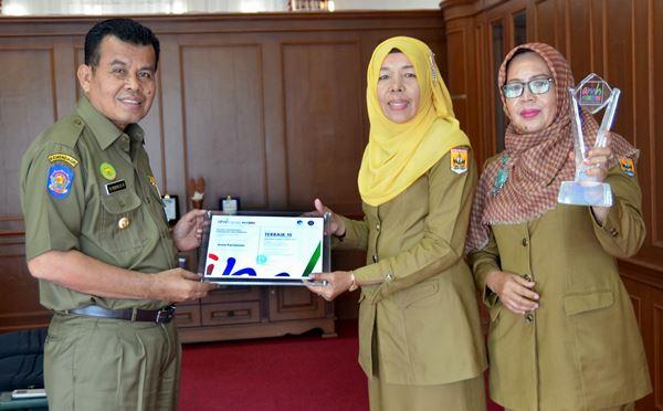 Pemko Pariaman Sukses Raih Juara III Nasional Siaran Pers Pemerintahan Daerah