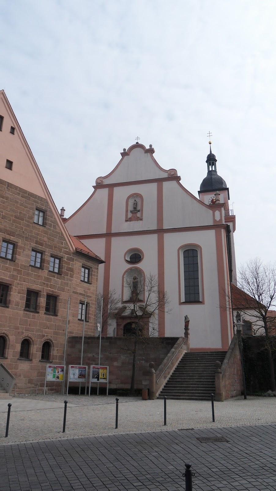 Hilpoltstein kath kirche Stadtpfarrkirche St.