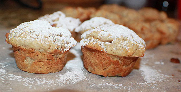 Mini Apple Scones Muffins