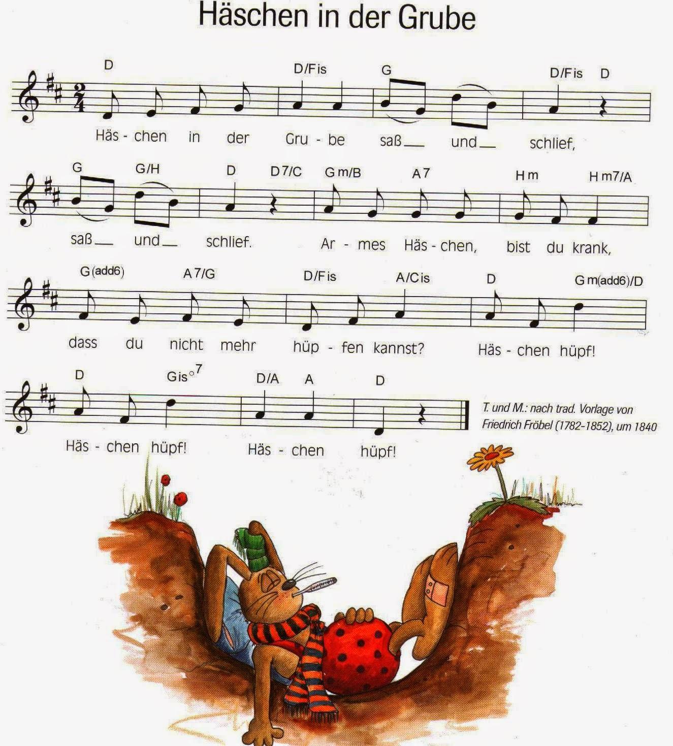 Häschen In Der Grube Liedtext
