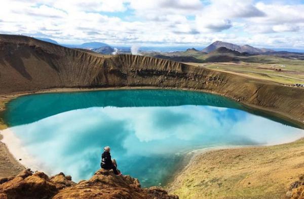 Kawah Viti, Islandia
