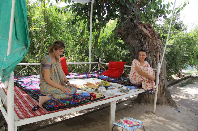 Tadjikistan, Dushanbe, tapchane, tapshan, Morhu, Mounira, Buvak, © L. Gigout, 2012
