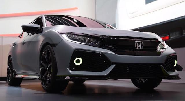 Honda Civic America Comeback face
