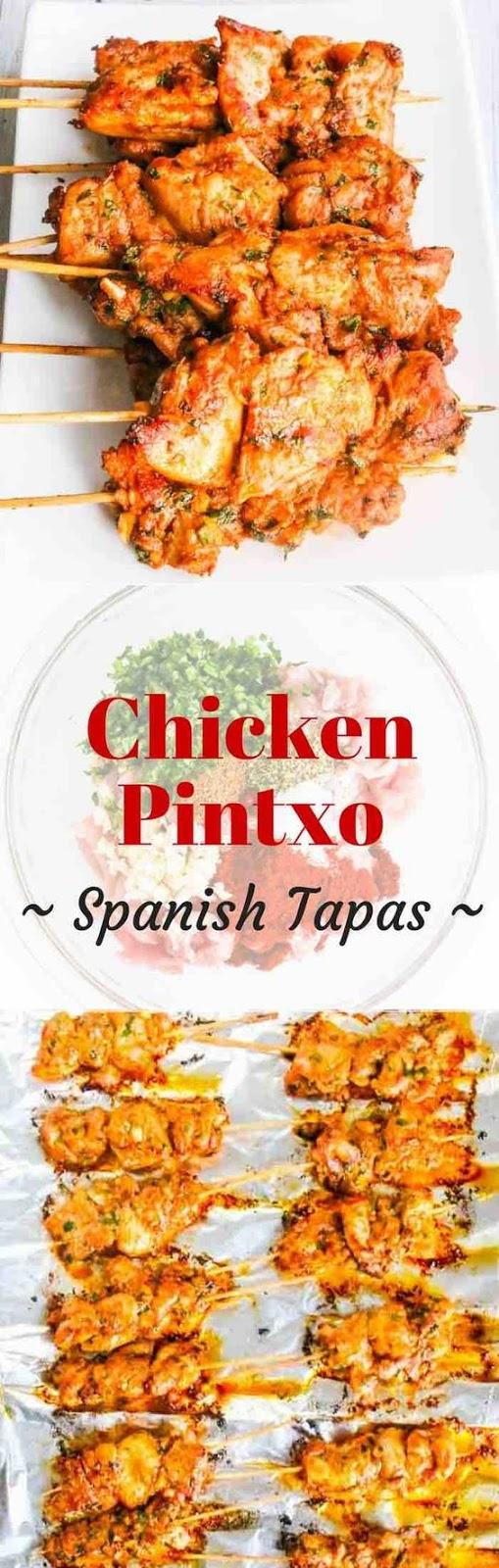 Chicken Pintxo