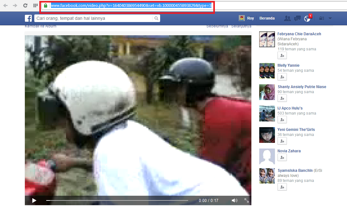 Cara Mendownload Video Di Facebook Selain dari IDM