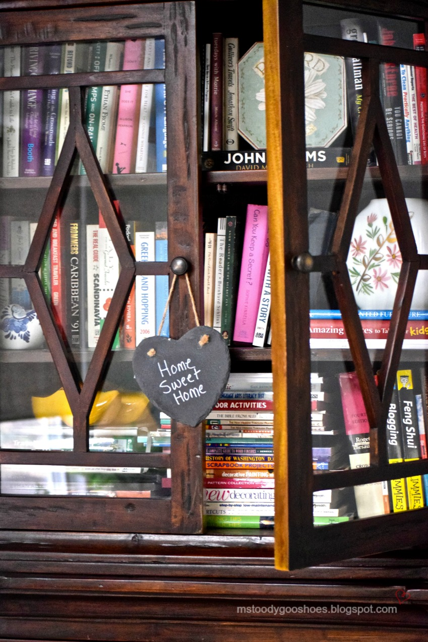 Decorating With Books - Ms Toody Goo Shoes