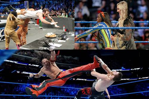 WWE Smackdown Live Full Results [19 Dec 2017]
