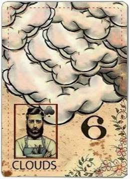 carta de lenormand 6 nubes