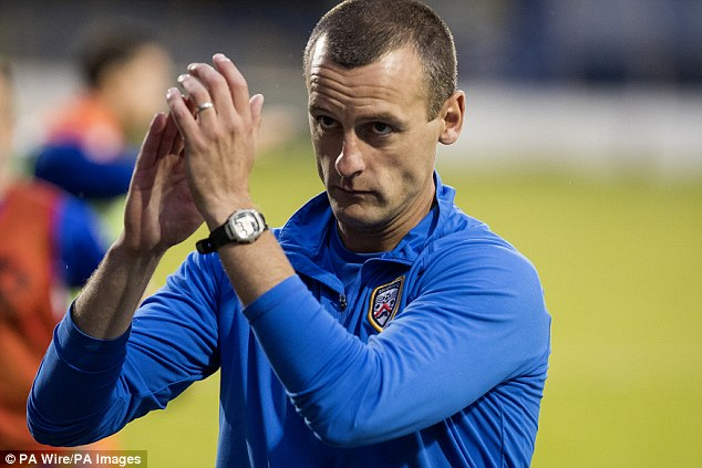 Oran Kearney appointed as the new manager of St Mirren confirm after Alan Stubbs was fired