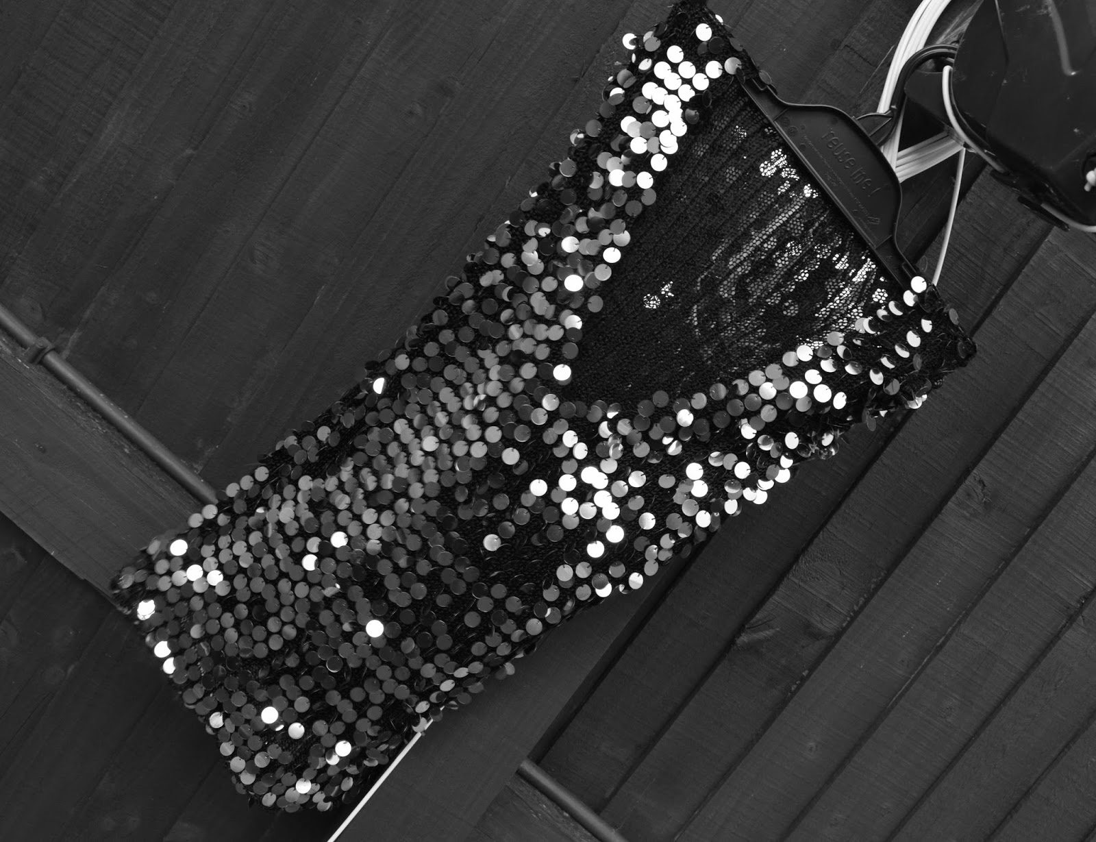Upcycled Sparkly Peg Bag: Recycling And Reusing