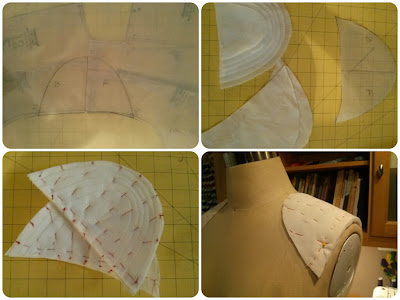 How to Make a Custom Shoulder Pad - Erica B.'s DIY Style!