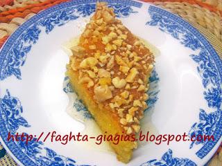 Πορτοκαλόπιτα αμυγδάλου - από «Τα φαγητά της γιαγιάς»