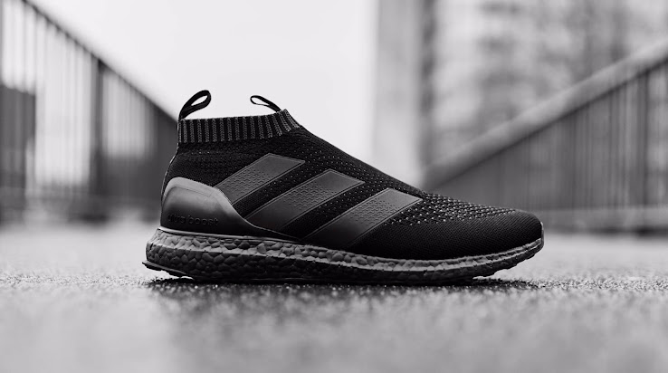 15d675e3071a2 Triple Black Adidas Ace 16+ PureControl Ultra Boost Released ...