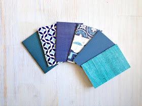 little blue notebooks from ordinary artist