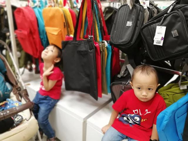 JALAN-JALAN WEEKEND AEON MALL CHERAS SELATAN BORIA MERAH, DAN MACAM CNY