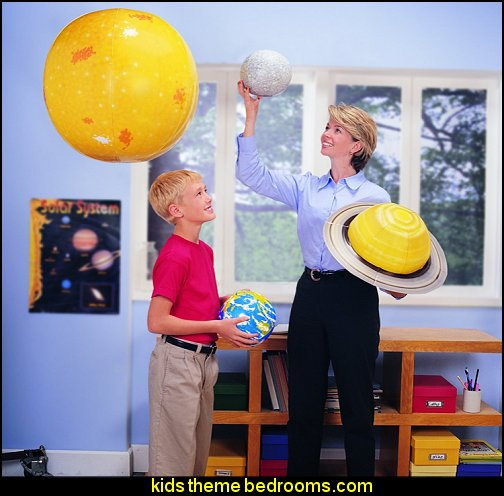 Inflatable Solar System Space Themed Kids Room  out of this world playroom  solar system decorating - moon stars hemed bedrooms planets decor space-bedroom-curtains-solar-system-bedroom-boys-space-room-solar-system-decorating-ideas-solar-system-bedroom-decor-space-bedroom-space-themed-bedroom-curtains