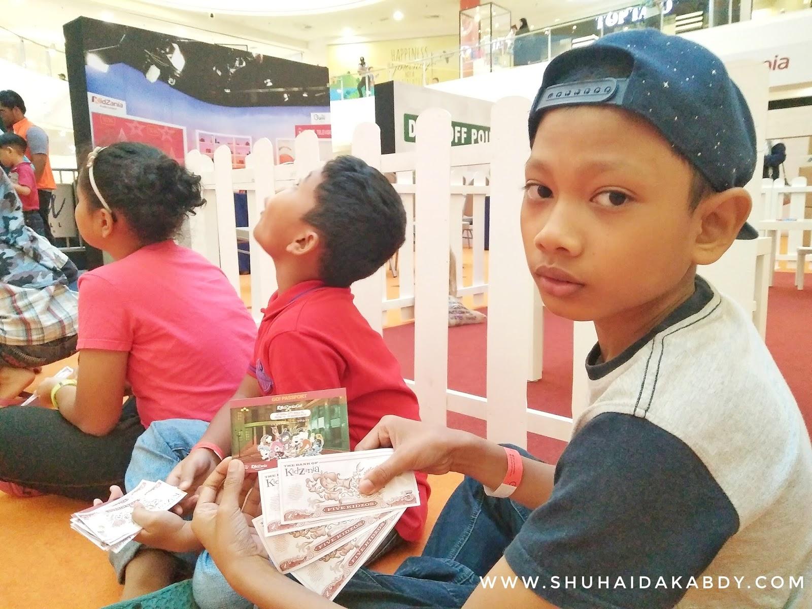 Cuti Sekolah ke Kidzania Go Quill City Mall Kuala Lumpur