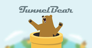 Tunnelbear  برنامج فتح المواقع المحجوبة