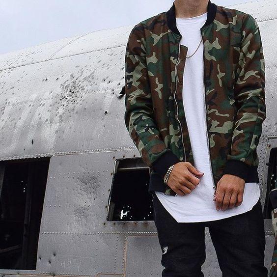jaqueta bomber masculina looks