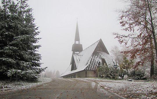 Kościół Matki Bożej Niezawodnej Nadziei w Jamnej.