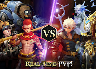 Download Game Heroes of Skyrealm V1.0.2 MOD Apk ( High Damage )