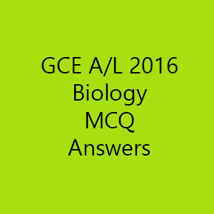 2016 biology mcq predicted answers g c e a l support. Black Bedroom Furniture Sets. Home Design Ideas