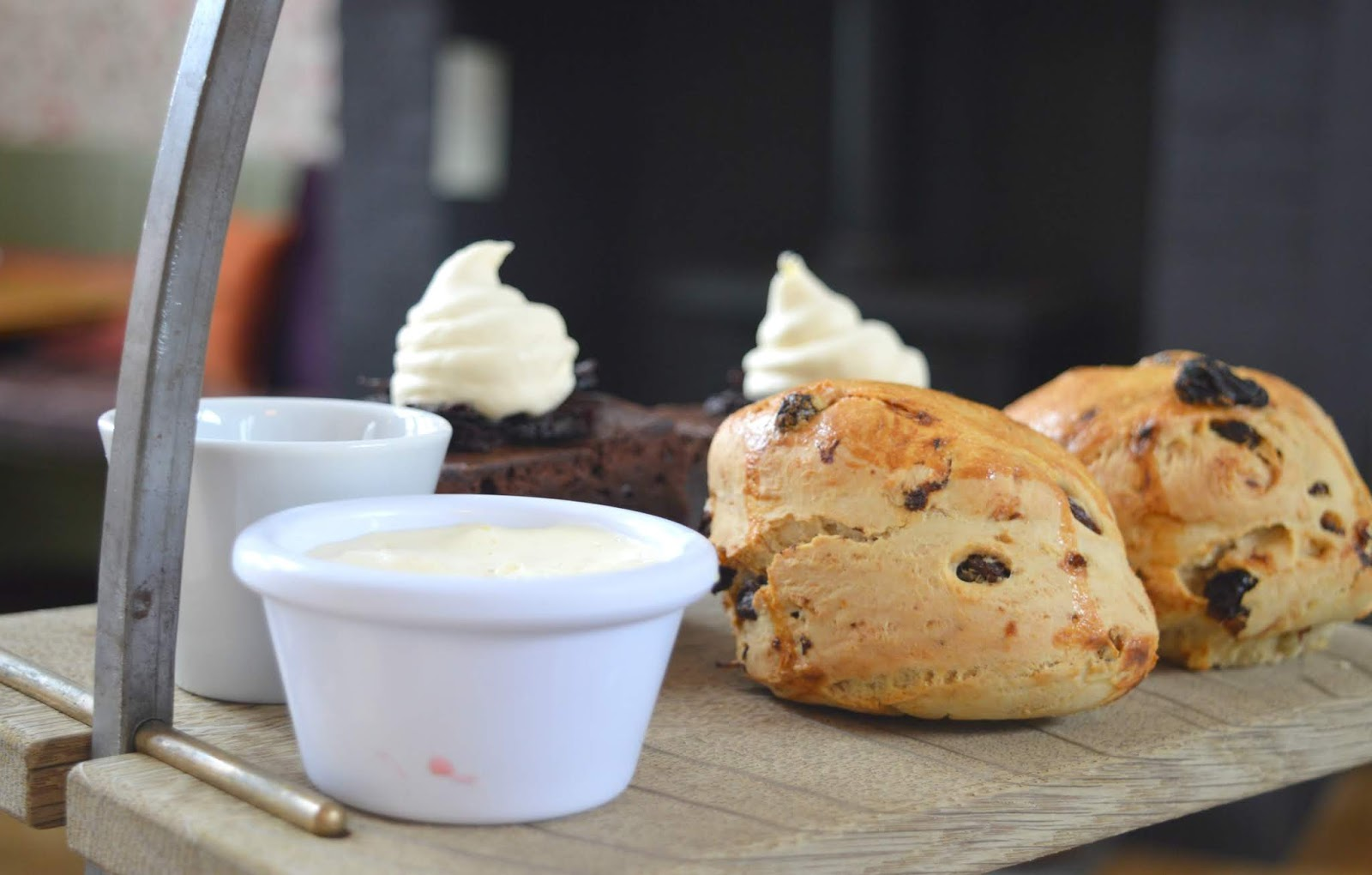St Mary's Inn Northumberland - Afternoon Tea - Scones