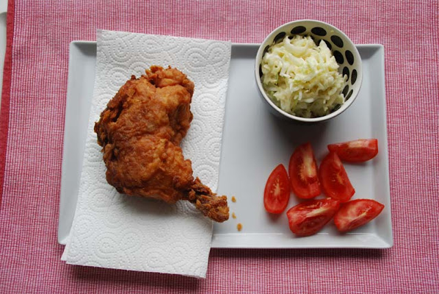 Fried Chicken, ganze Keule | pastasciutta