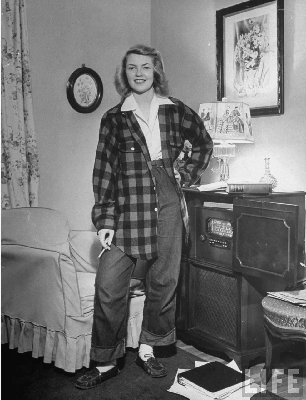 Photos Of American Teenage Girls, 1944  Vintage Everyday-1530