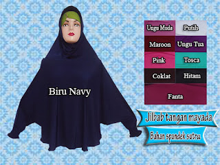 jilbab syar'i model tangan mayada
