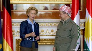 الدور المشبوه الذي تلعبه المخابرات الألمانية في العراق و علاقتها بمسعود برزاني