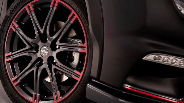 2012 Nissan Juke Nismo Dark Knight Rises Wheel