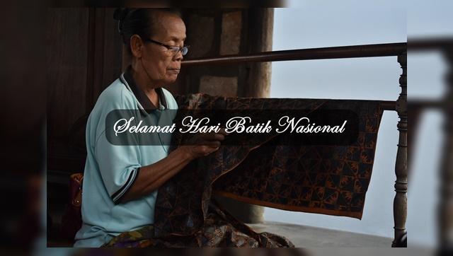 Kata kata Ucapan Selamat Hari Batik Nasional 2 Otober 2019