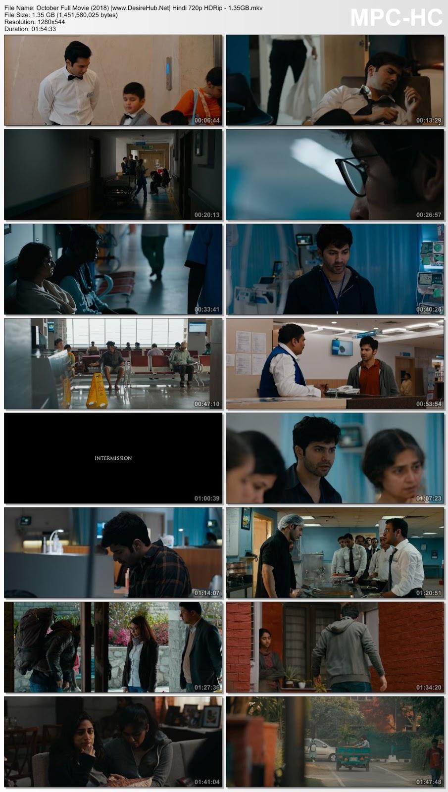October (2018) Hindi 720p HDRip – 1.35GB Desirehub