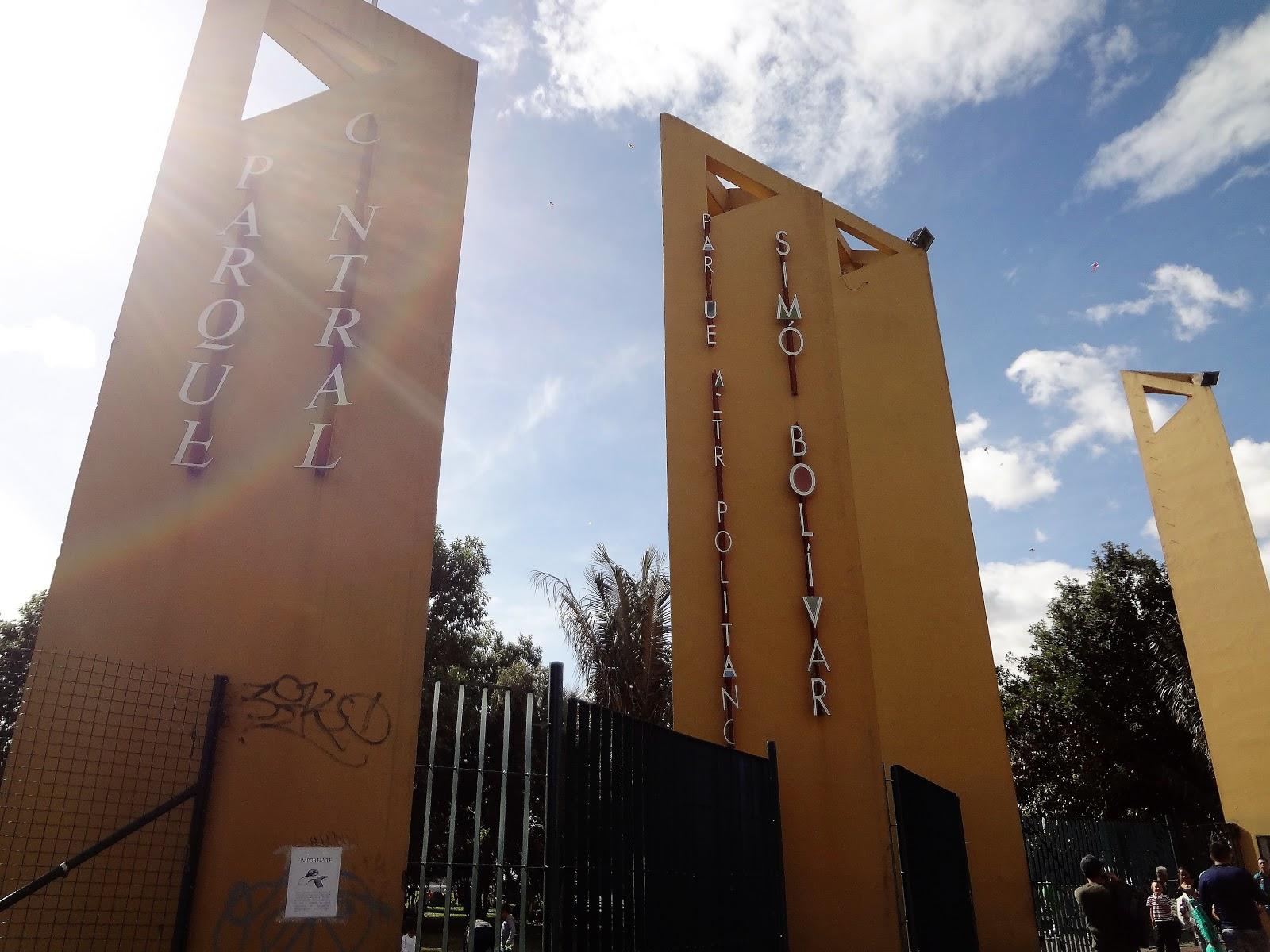 コロンビアの首都ボゴタ『シモン・ボリバル公園』に観光