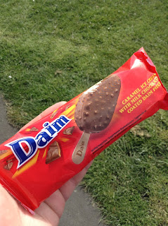 daim ice cream sticks