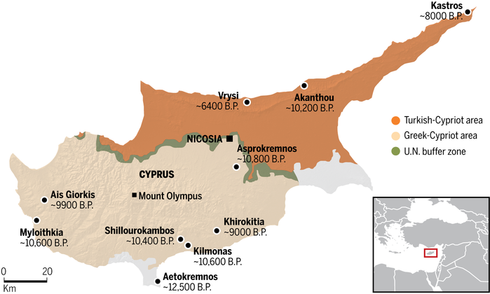 Ancient Sites In Northern Cyprus At Risk The Archaeology News - Northern cyprus map