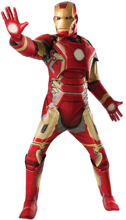 Men's Mark 43 Iron Man Costume
